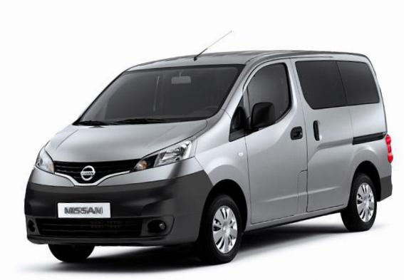 Nissan NV200 Combi approved pickup