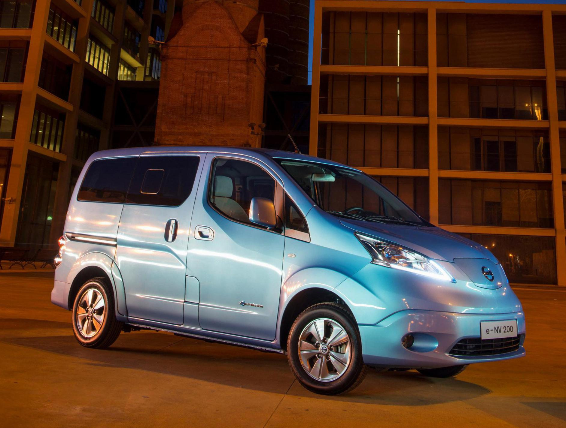 e-NV200 Nissan spec pickup