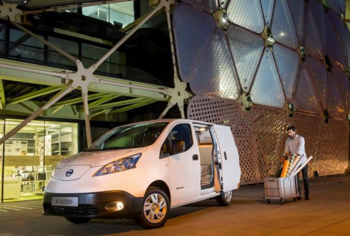 Nissan e-NV200 Cargo Specifications 2012