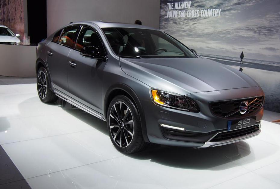 Volvo S60 Cross Country lease pickup