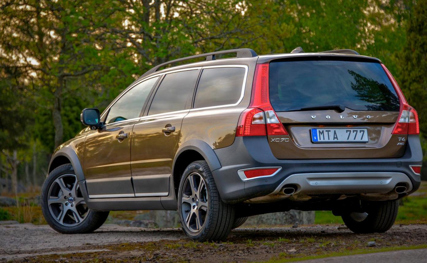 Volvo XC70 how mach 2009