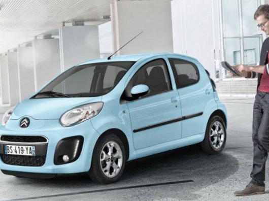 C1 5 doors Citroen used 2012