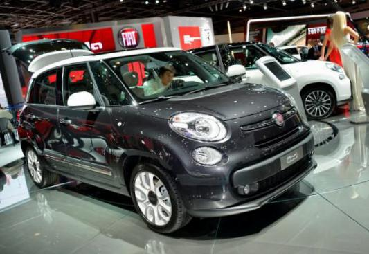Fiat 500L reviews 2012