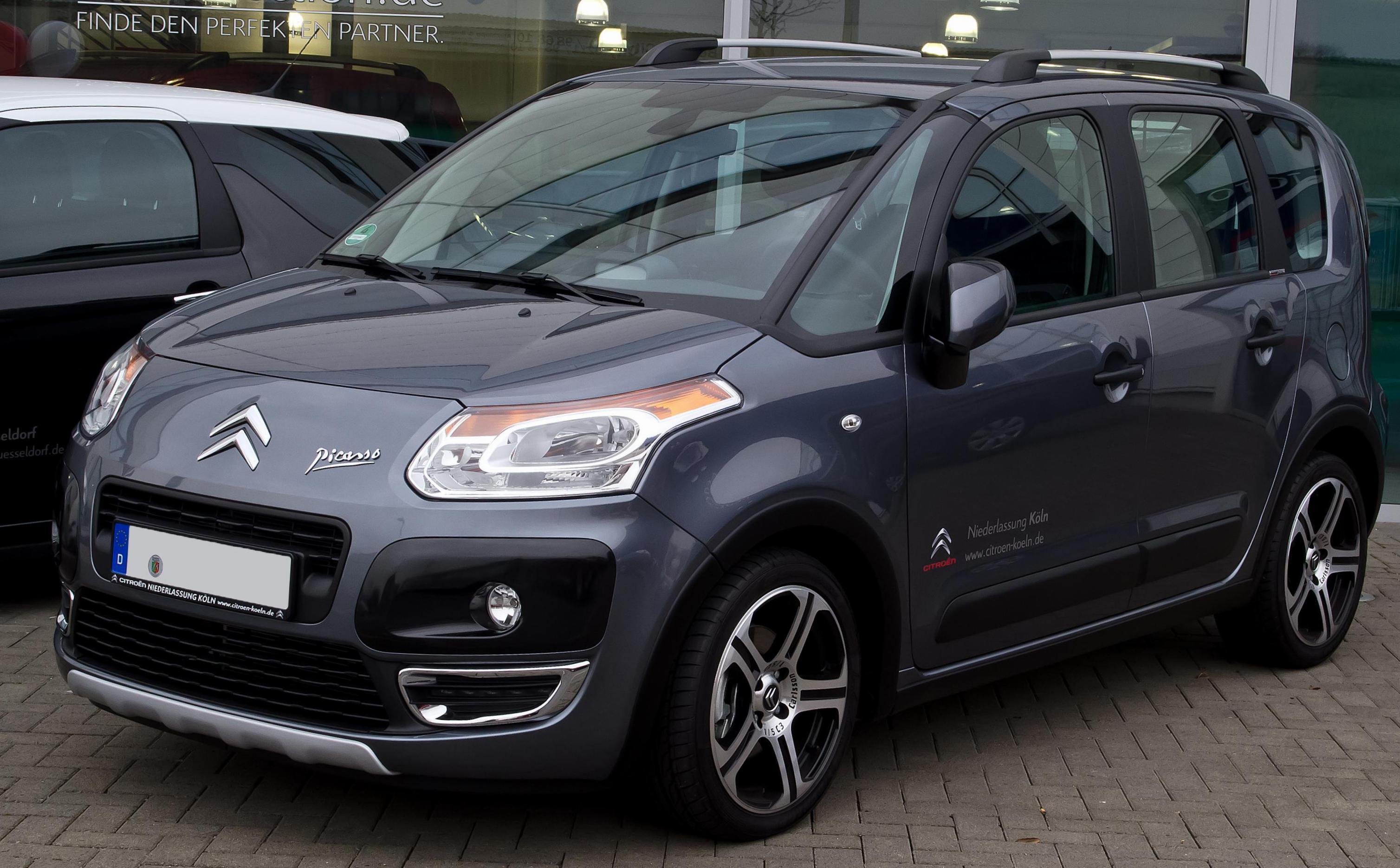 Reviews: Citroen C3 Picasso. Citroën C3 Picasso: specifications, photo