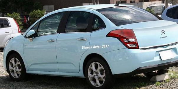 C4 Sedan Citroen reviews 2012