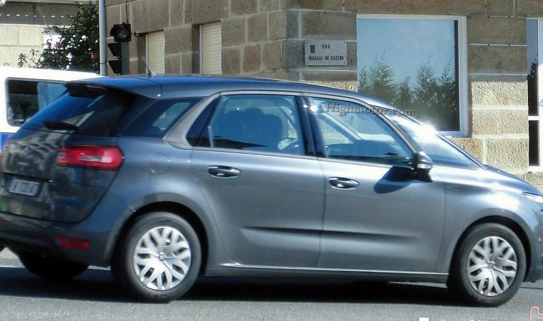 Citroen C4 Picasso Specification pickup