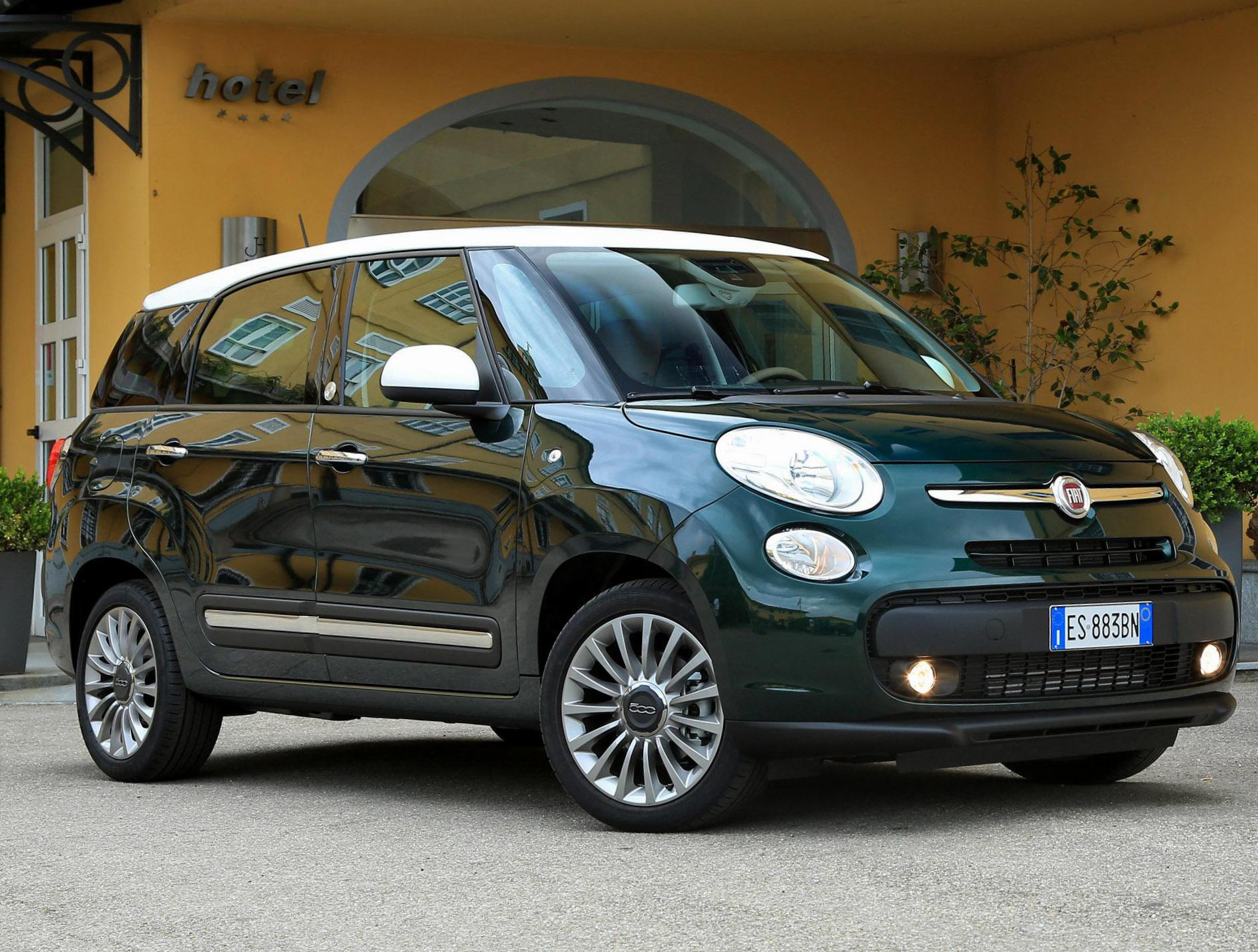 500L Living Fiat tuning hatchback