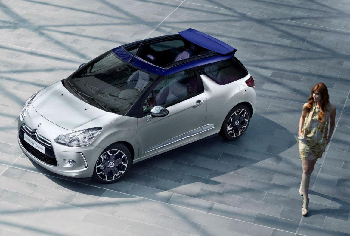 Citroen DS3 Cabrio model cabriolet