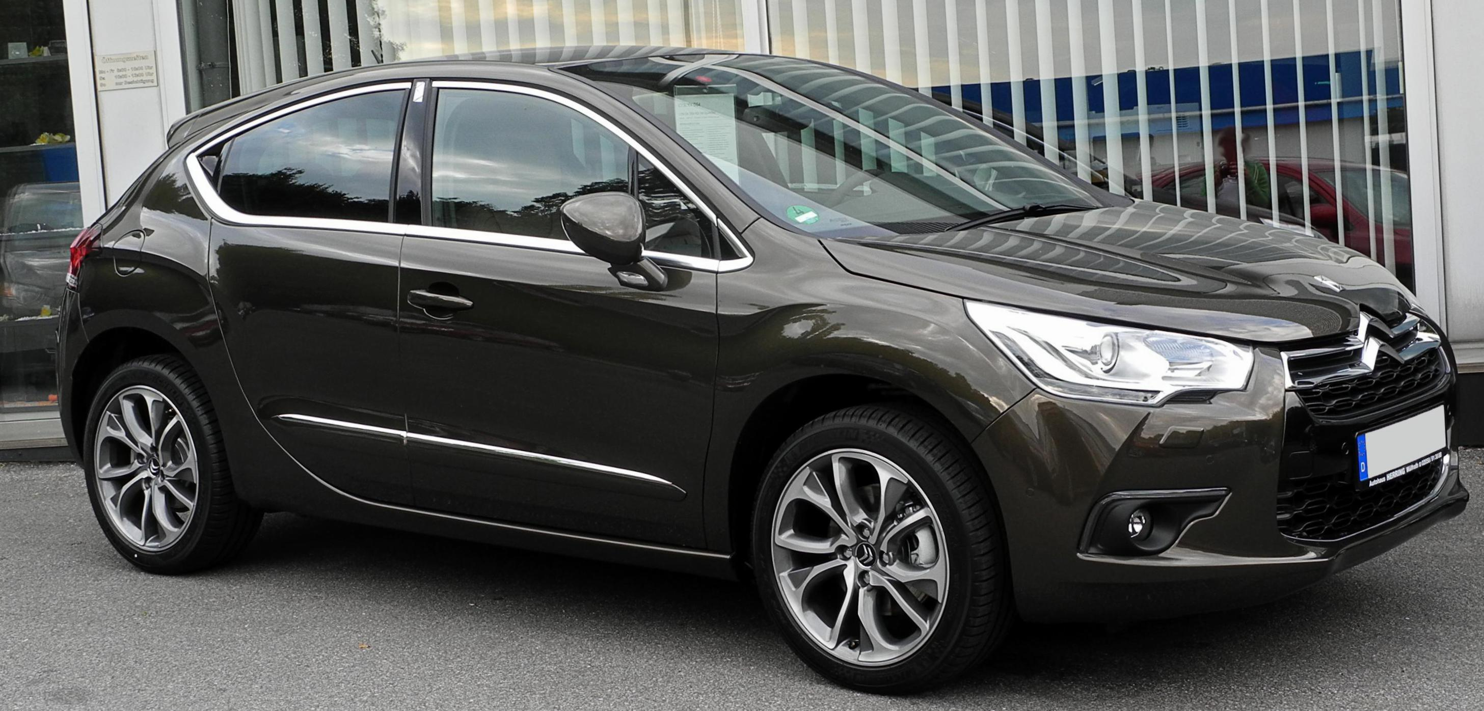 Citroen DS4 spec wagon