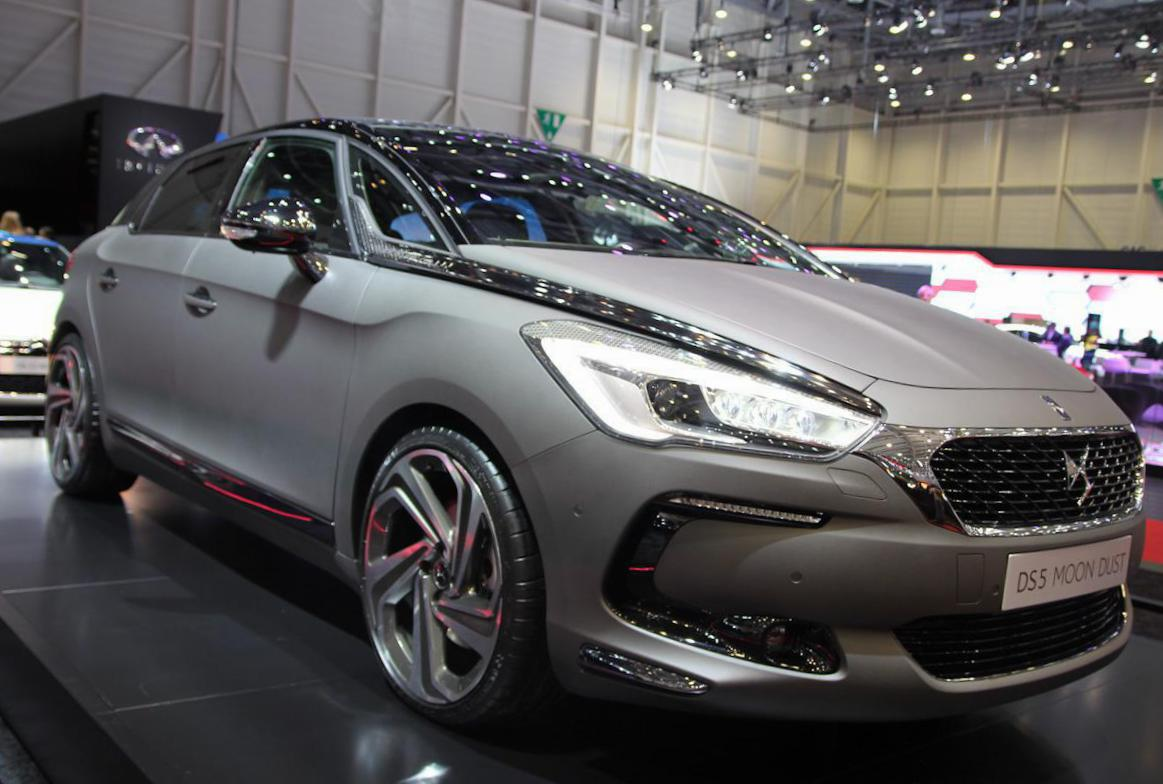 Citroen DS5 spec pickup