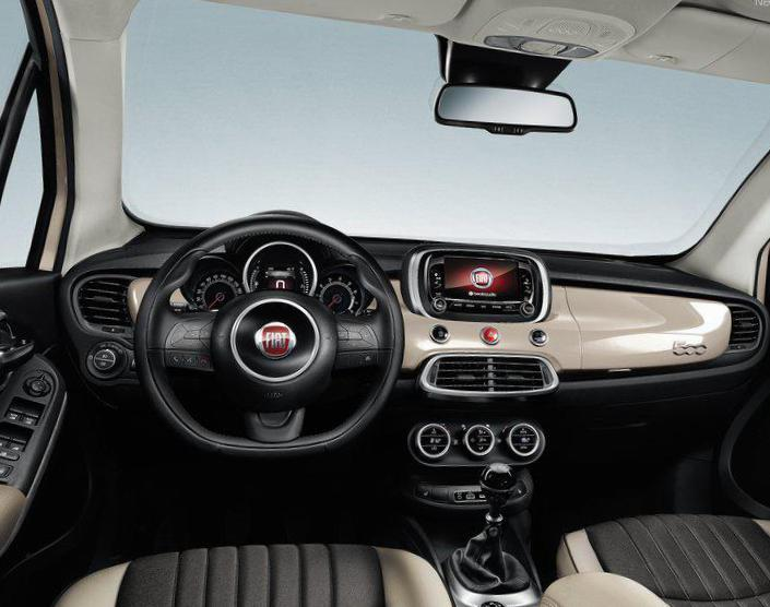 Fiat 500X City Look cost hatchback
