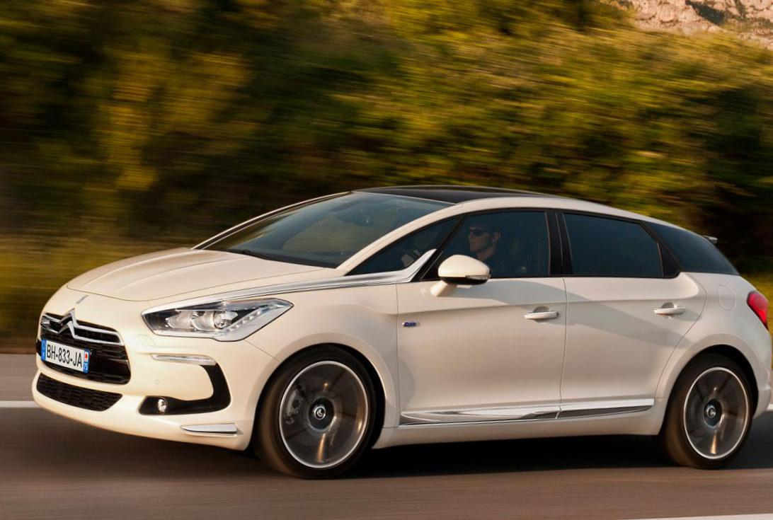 Citroen DS5 price 2012