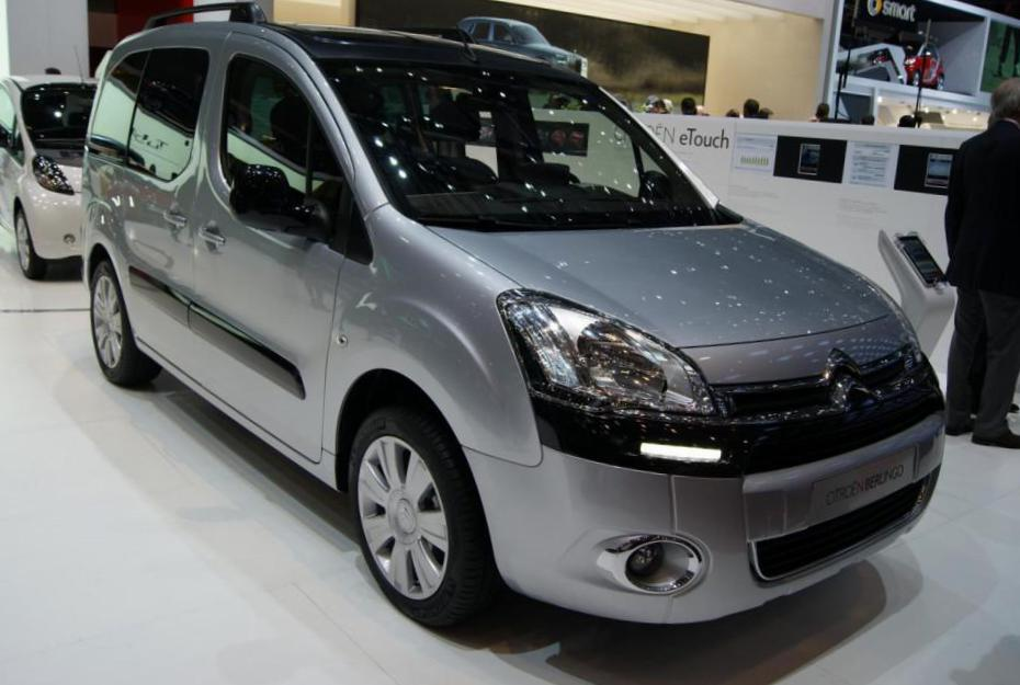 Citroen Berlingo configuration 2013