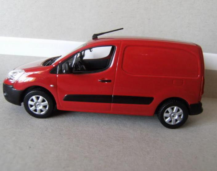 Citroen Berlingo VU configuration 2005