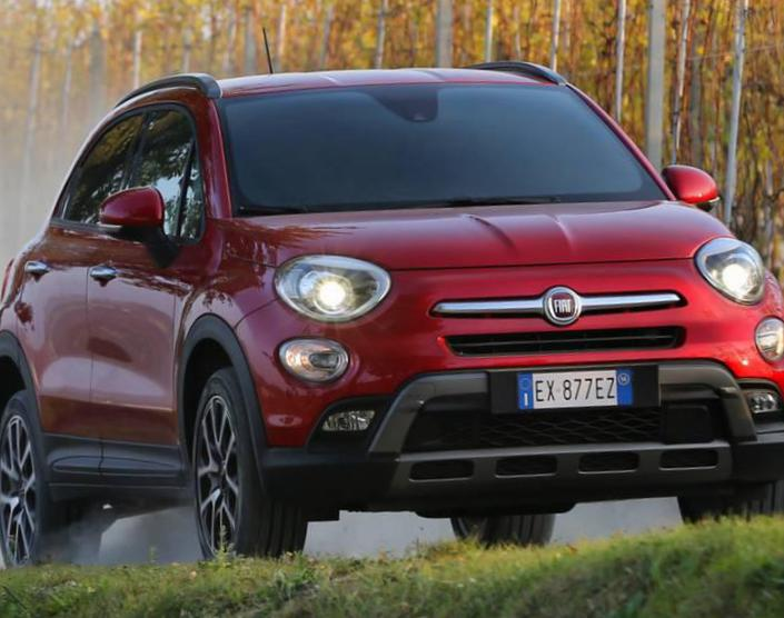 500X Off Road Look Fiat approved hatchback