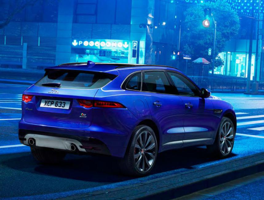F-Pace Jaguar Specifications suv