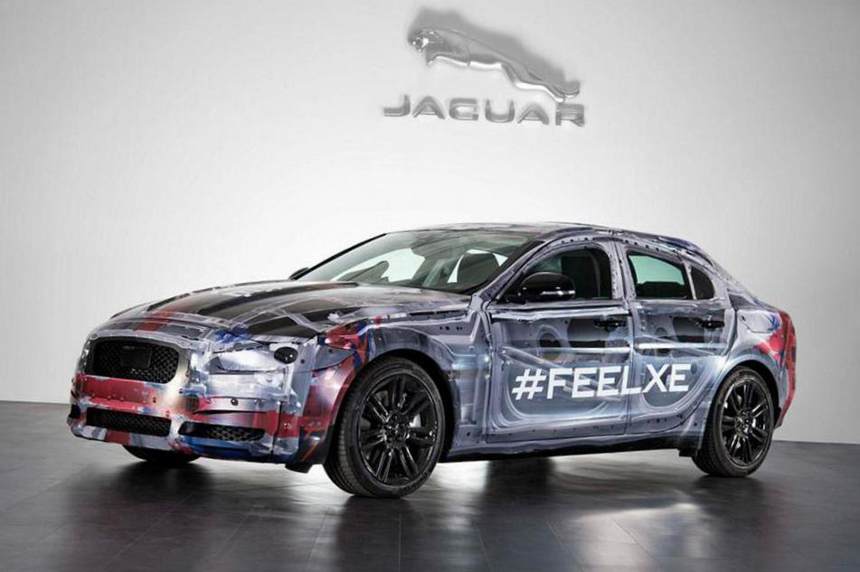 Jaguar XE review minivan