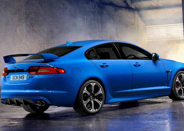 Jaguar XFR-S models 2015