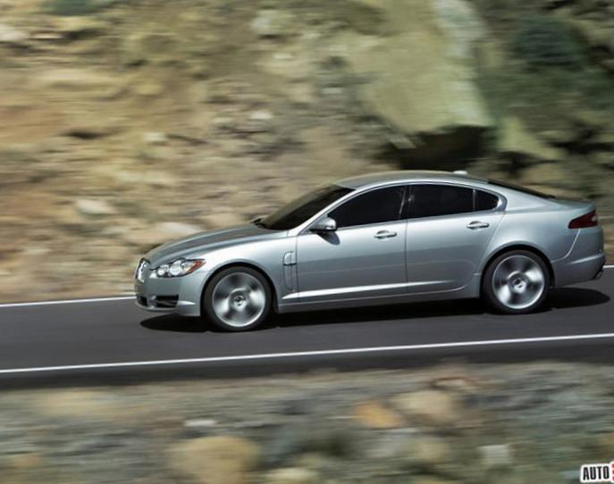 XF Jaguar lease 2008