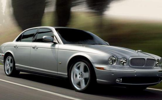 Jaguar XJ usa 2008