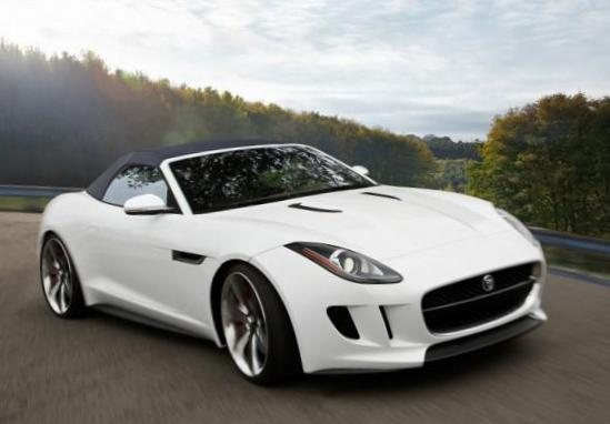 F-Type Jaguar approved pickup