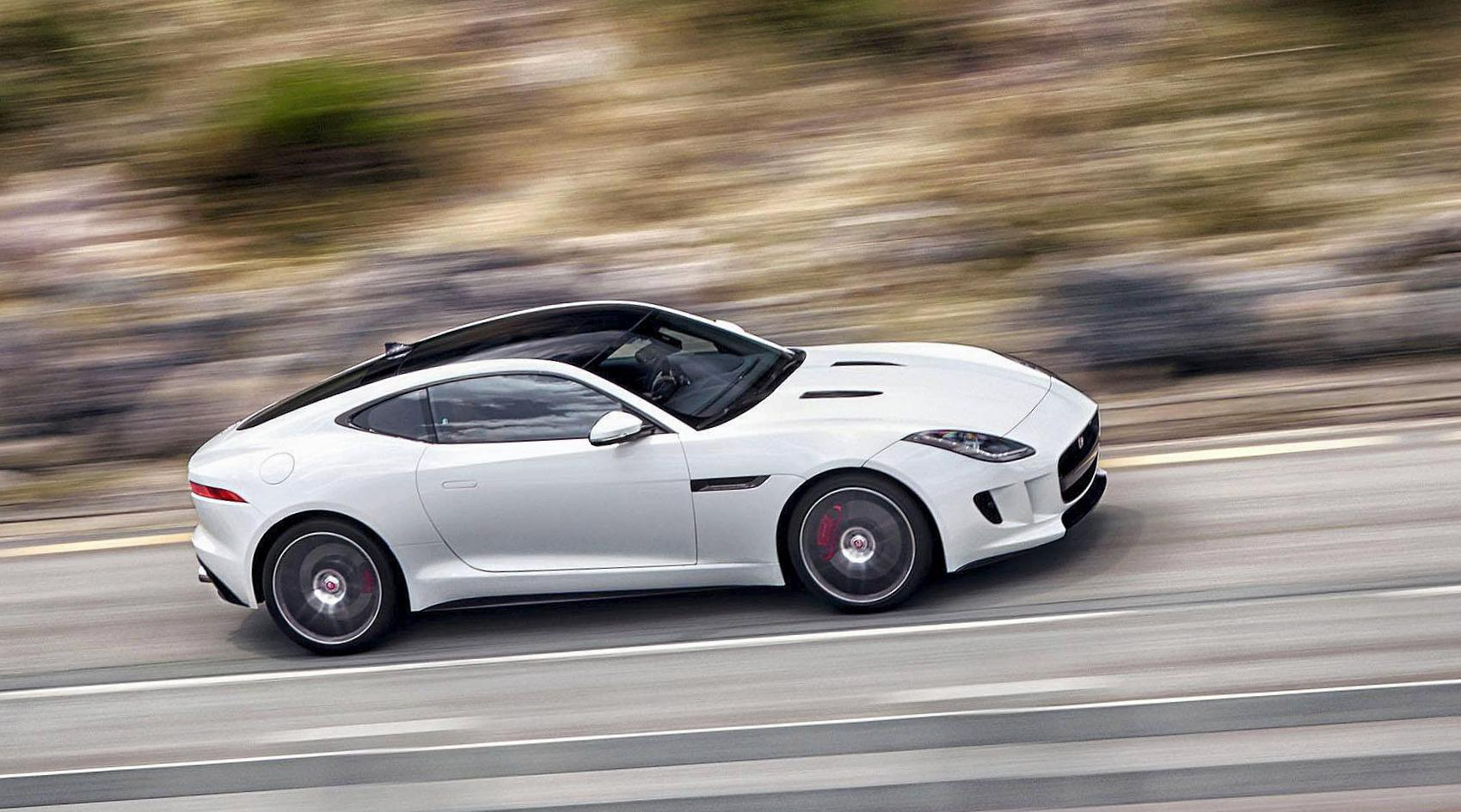 Jaguar F-Type Coupe model 2006