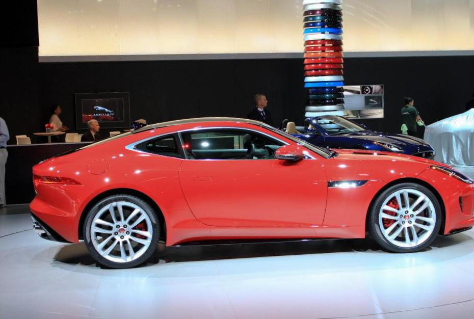 Jaguar F-Type Coupe Specification hatchback