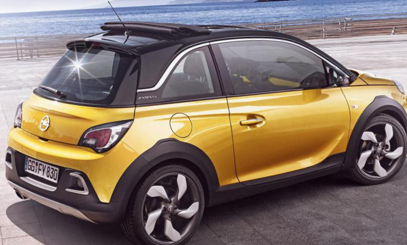 Opel ADAM Rocks approved 2010