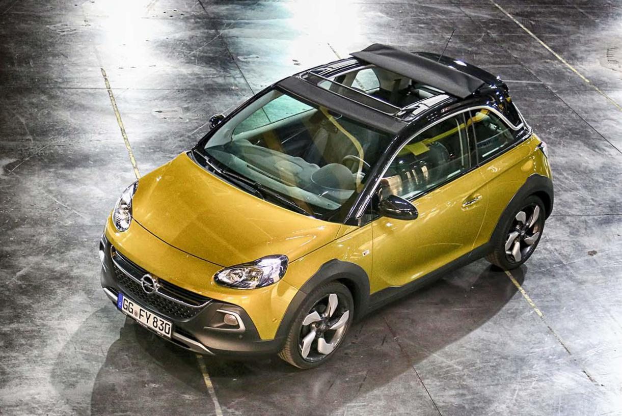 Opel ADAM Rocks configuration hatchback