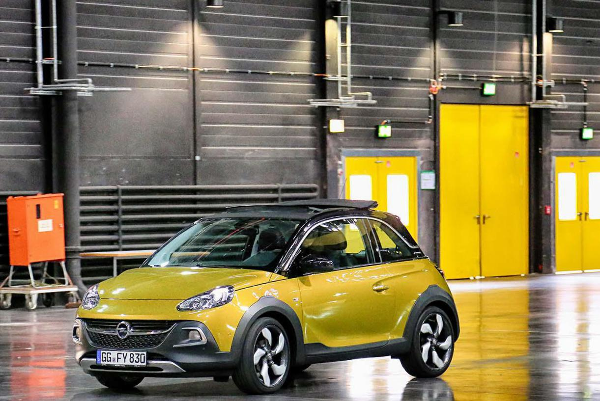 Opel ADAM Rocks Specification sedan