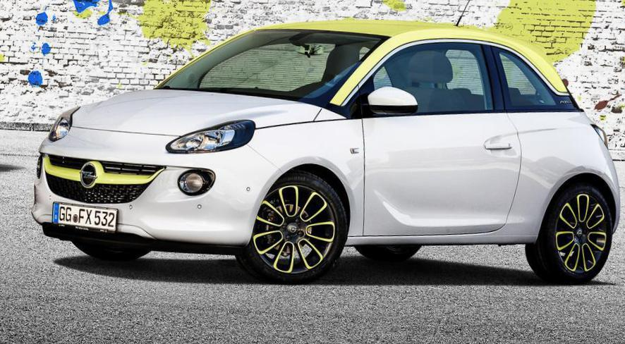Opel ADAM prices 2010