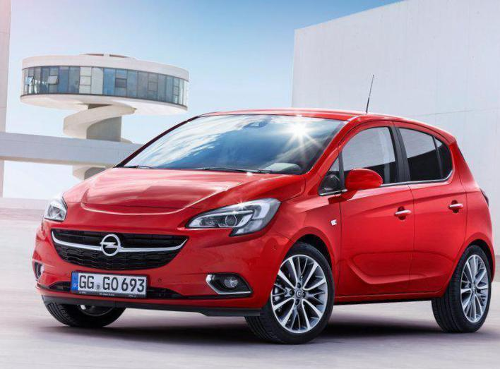 Corsa E 5 doors Opel Specification hatchback