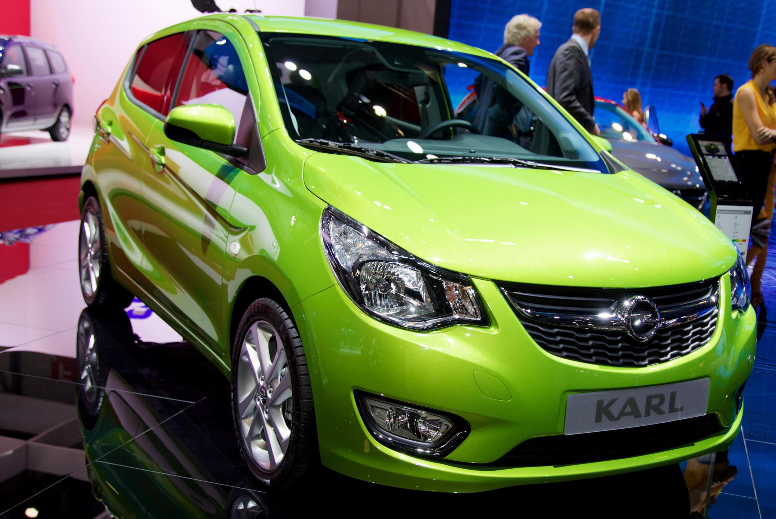 Opel KARL review 2012