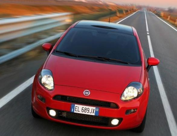 Punto 5 doors Fiat Specifications 2012
