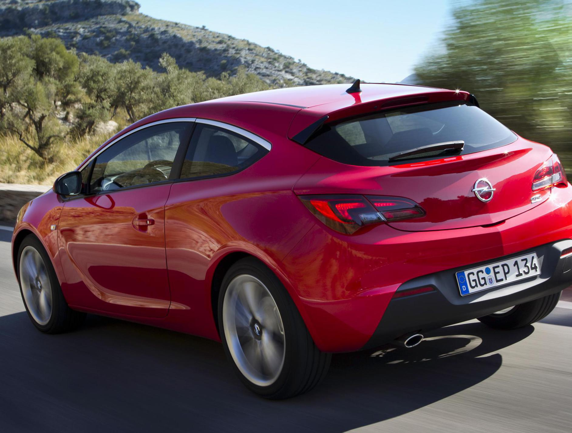opel astra 2014 specifications