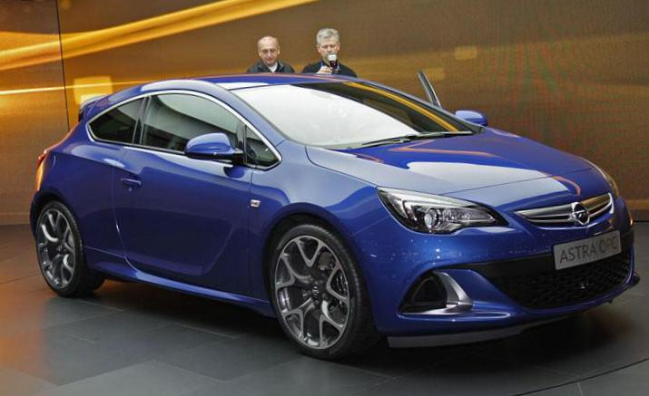 Opel Astra J OPC approved wagon