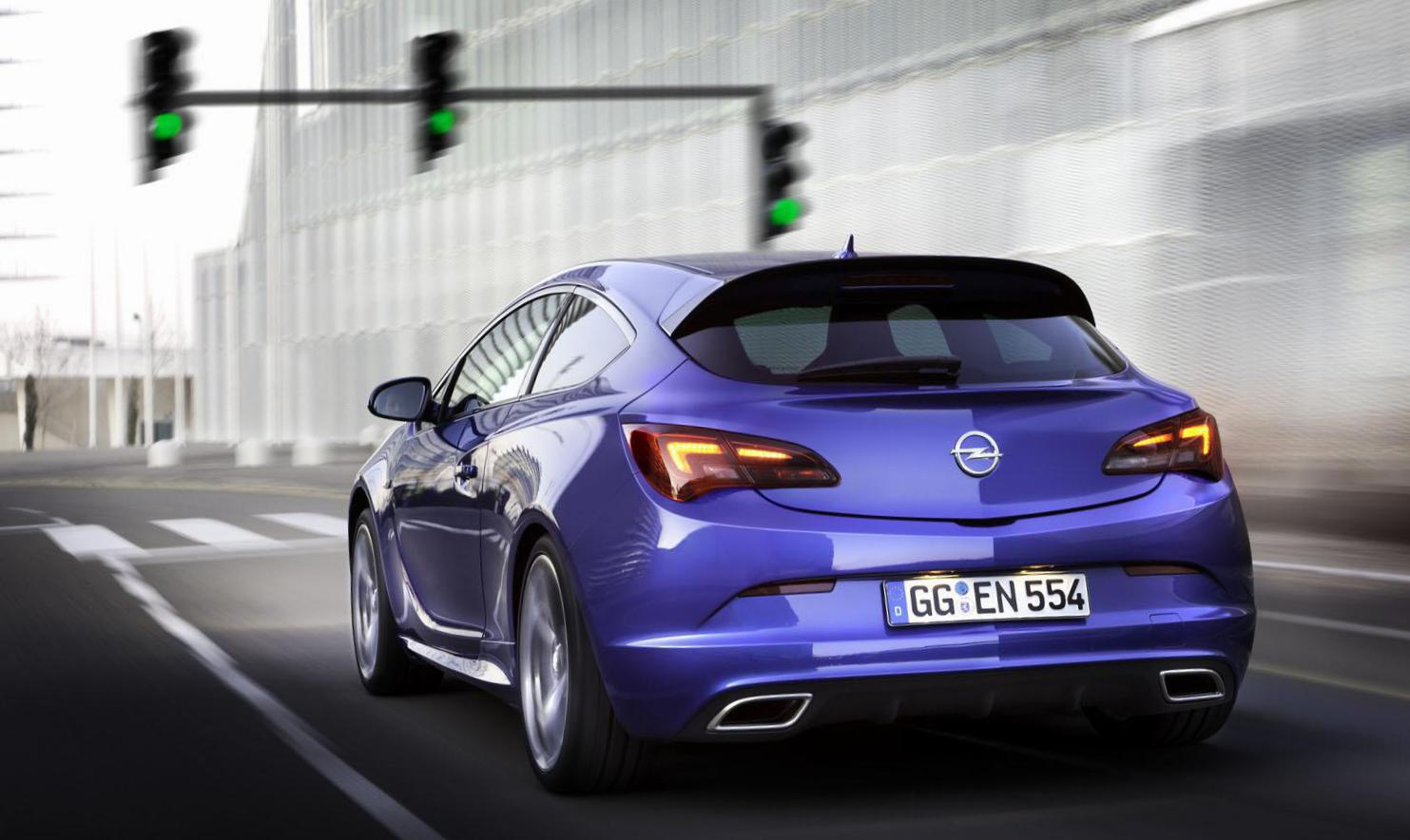 Opel Astra J OPC price 2015