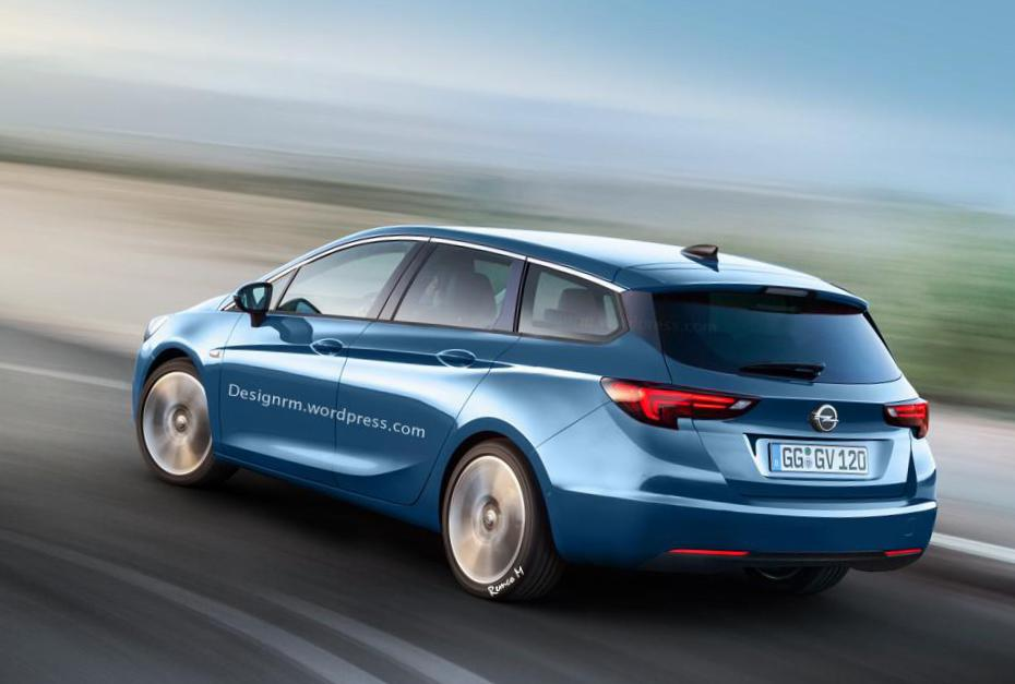 Opel Astra K Sports Tourer concept suv