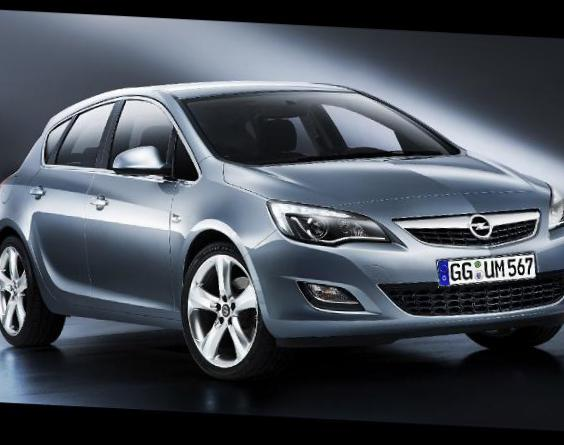 Opel Astra J Hatchback price 2014