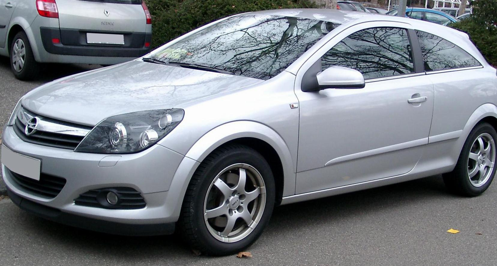 Astra H GTC Opel approved 2009