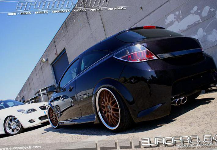 Astra H GTC Opel tuning 2015