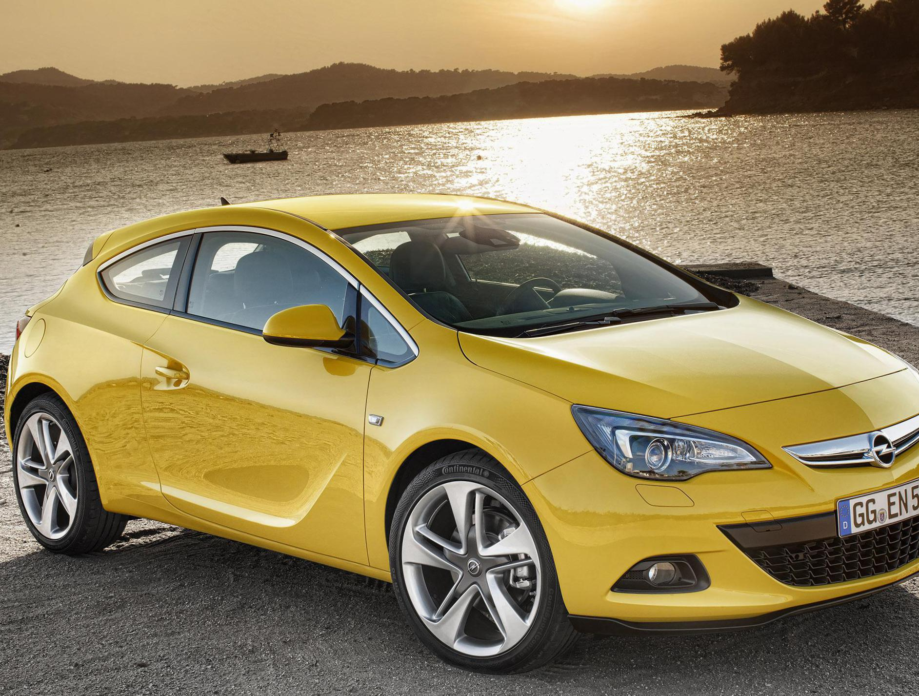 Opel Astra H GTC how mach 2004