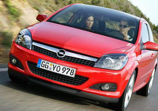 Opel Astra H GTC used 2010
