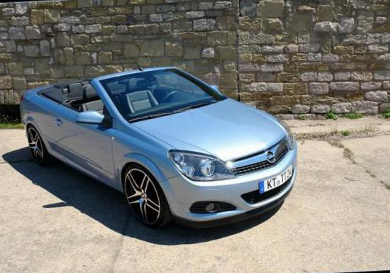 Opel Astra H TwinTop how mach pickup