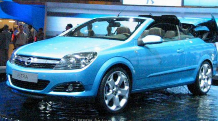 Opel Astra H TwinTop models hatchback