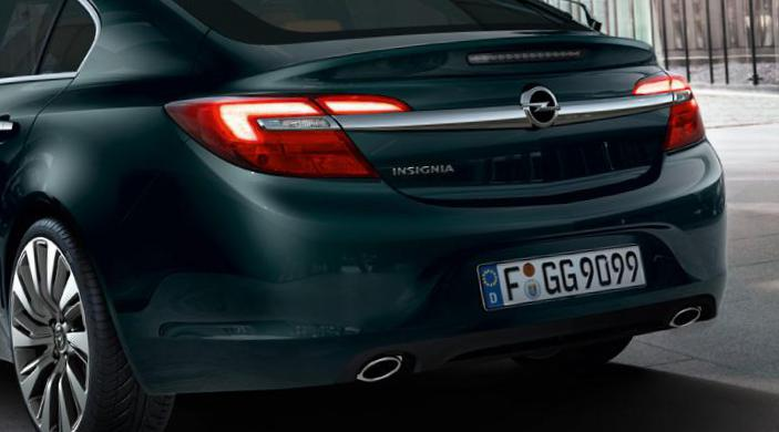 Opel Insignia Notchback lease coupe