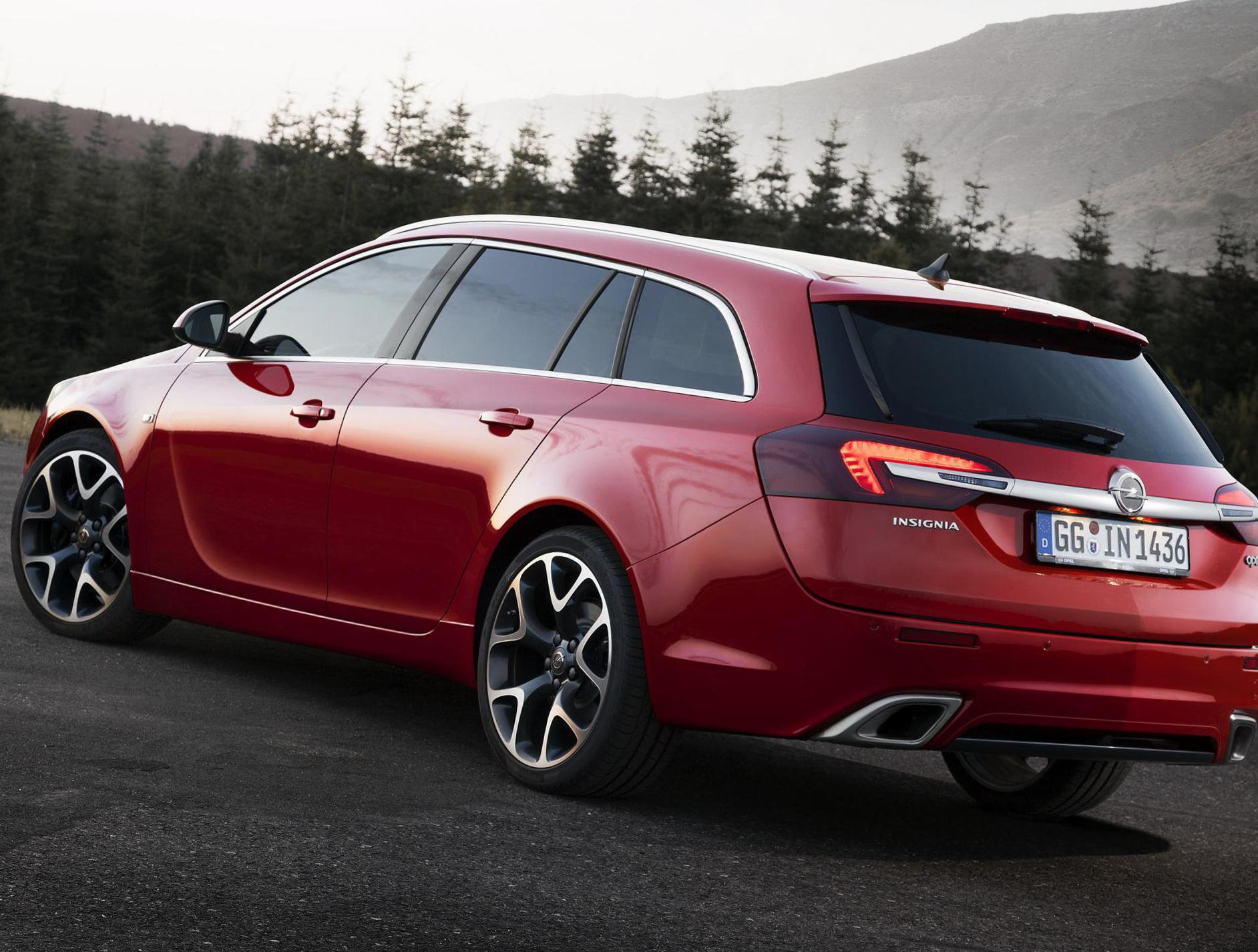 Opel Insignia Sports Tourer Specifications 2013