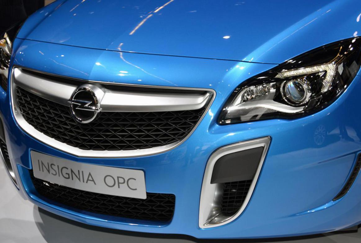 Insignia OPC Hatchback Opel model 2013