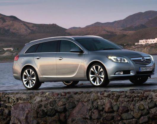 Insignia OPC Notchback Opel review 2008