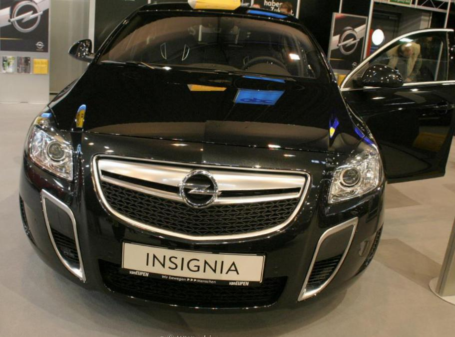 Insignia OPC Hatchback Opel configuration 2013